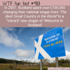 in 2007 scotland spent over 100000 changing