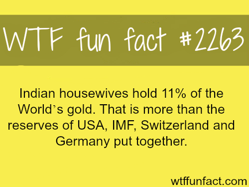 Indian housewives -WTF fun facts
