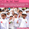 indias childrens day wtf fun fact