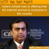 indias richest man is trying make internet free
