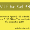 iphone 5 cost