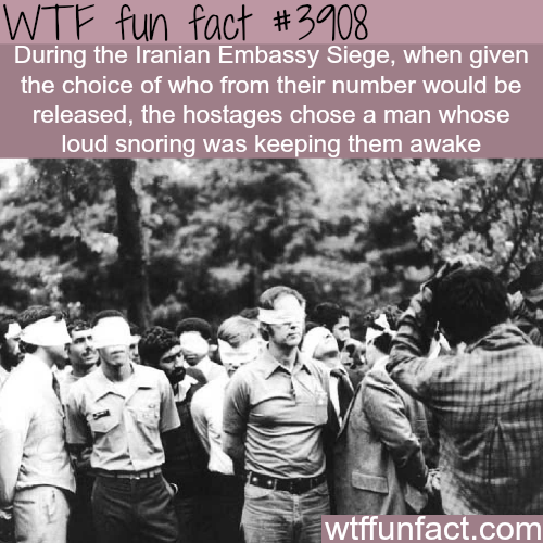 Iranian Embassy Siege facts - WTF fun facts