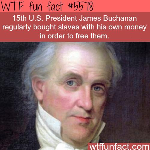 James Buchanan - WTF fun facts
