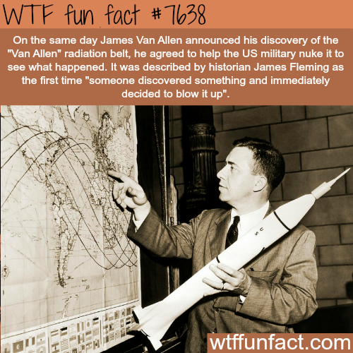 James Van Allen - WTF FUN FACTS