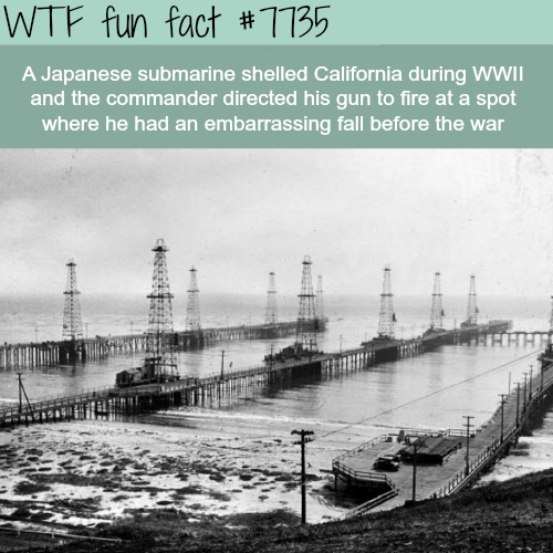 Japan bombing of California  - WTF fun facts