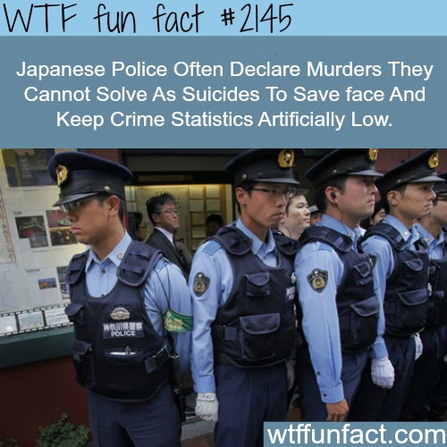 Japan murder and suicides statics - WTF fun facts