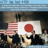japanese interpreter translates a joke by jimmy carter