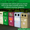 japanese town has 34 different recycling