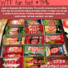 japans love for kit kat wtf fun facts