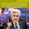 jay leno drove a kid to school wtf fun facts