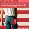 jeans are banned in north korea wtf fun facts