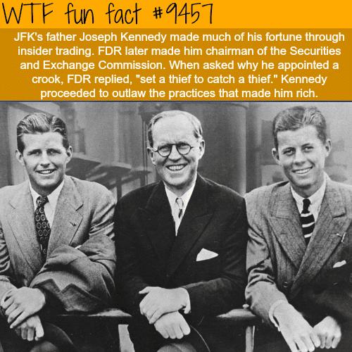 JFK's Father - WTF fun fact