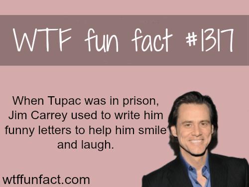 Jimcarrey and tupac - celebritiesfacts