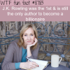 jk rowling wtf fun facts