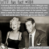joe dimaggio and marilyn monroe wtf fun facts