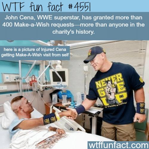 John Cena facts -   WTF fun facts