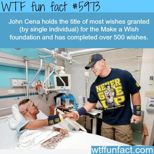 John Cena - WTF fun facts
