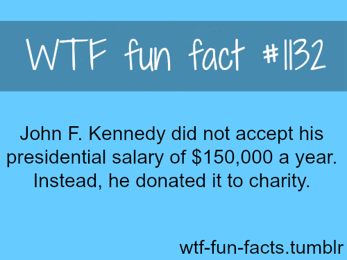 John F Kennedy — people facts