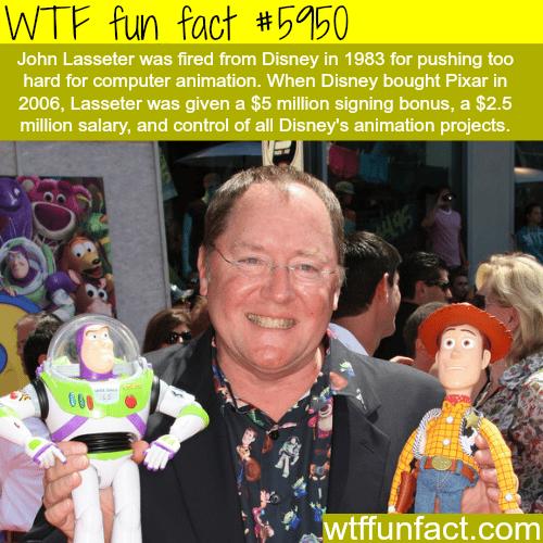 John Lasseter - WTF fun facts