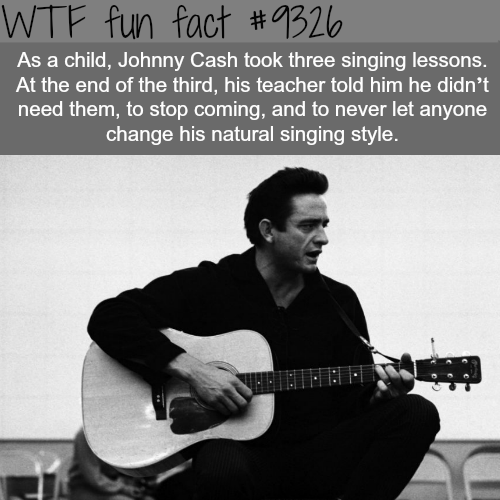 Johnny Cash - WTF fun facts