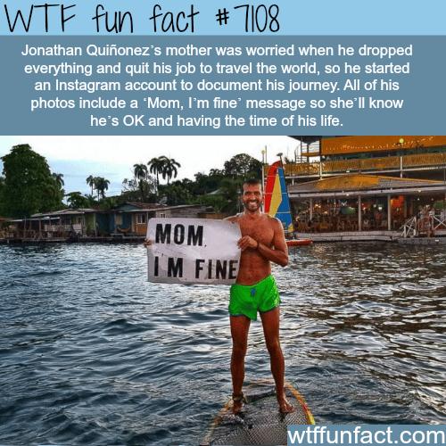 Jonathan Quiñonez - WTF fun facts