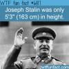 joseph stalin wtf fun fact