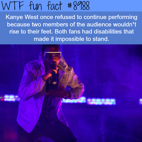Kanye West - WTF fun facts