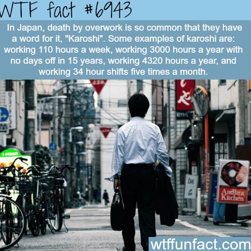 Karoshi - WTF fun fact