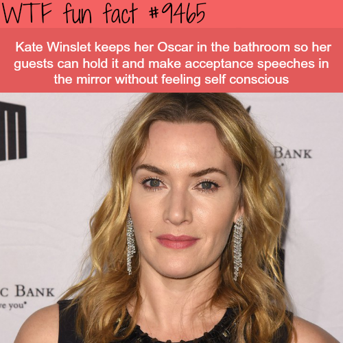 Kate Winslet - WTF fun fact