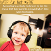 kids like the music their parents liked wtf fun