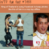 king of thailand in crop top facts