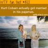 kurt cobain wedding pagamas