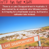 lake disappointment in australia