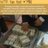 large currencies wtf fun fact
