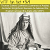 lawrence of arabia and the reason for declining