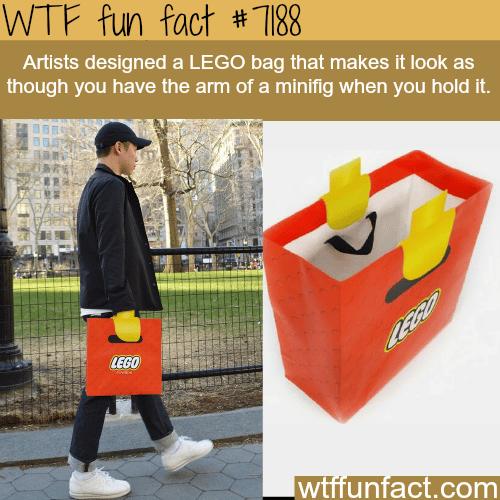 LEGO bag - WTF Fun Fact