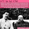 lenin did not trust joseph stalin with power wtf