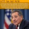 leon panetta wtf fun fact
