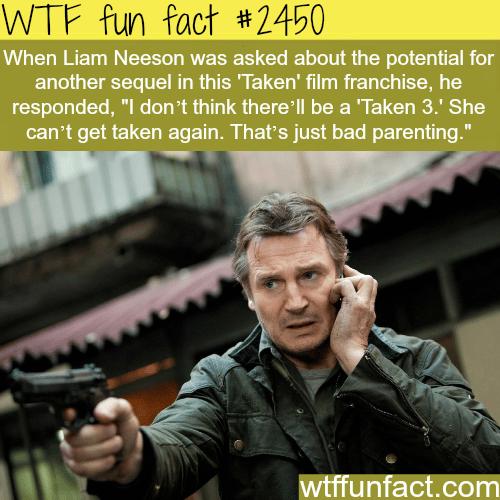 "Liam Neeson talks about ""Taken 3"" -WTF funfacts"