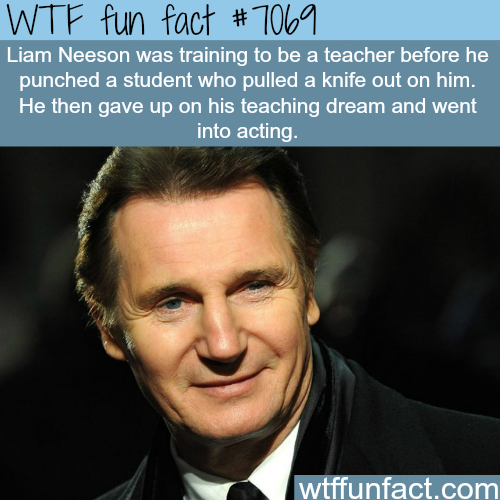 Liam Neeson - WTF fun facts