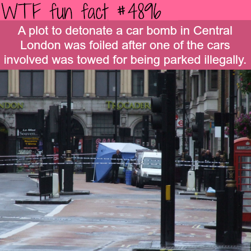 London car bomb - WTF fun facts