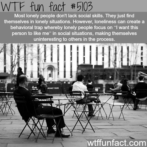 Lonely people - WTF fun facts