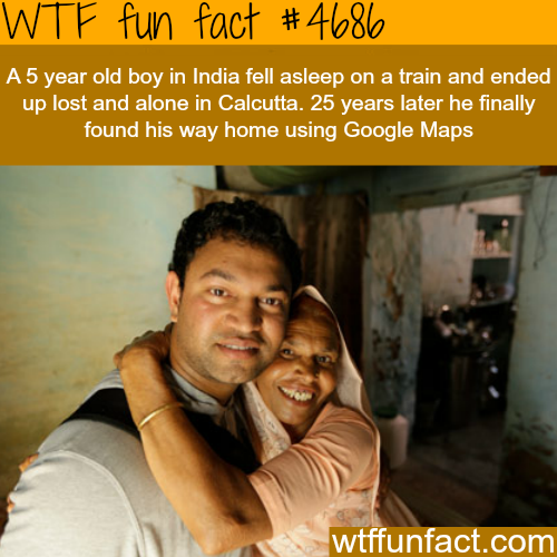Lost kid finds his family after being lost for 25 years - WTF fun facts
