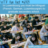 luxembourg wtf fun facts