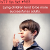lying children wtf fun fact