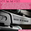 made in germany wtf fun fact