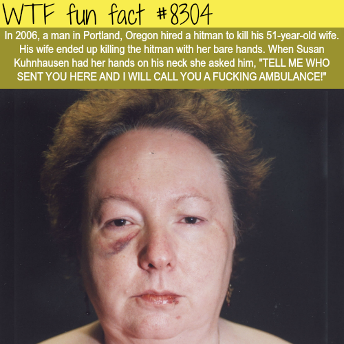 Man hired a hitman to kill his wife - WTF fun facts