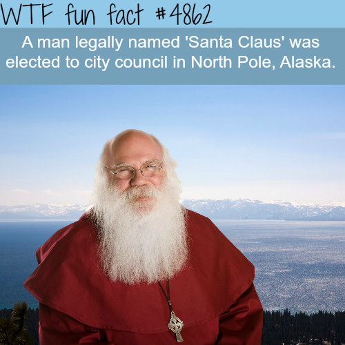 Man named Santa Claus elected to city council in North Pole