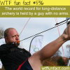 man with no arms is one of the best archers in the
