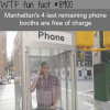 manhattans last phone booths wtf fun facts
